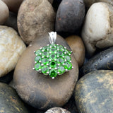 Chrome Diopside Pendant 174 - Silver Street Jewellers