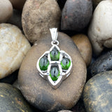 Chrome Diopside Pendant 193 - Silver Street Jewellers