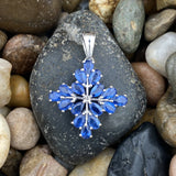 Kyanite pendant set in 925 Sterling Silver