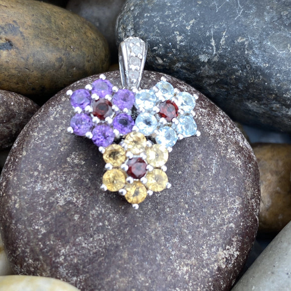 Mixed Gemstone Pendant 3