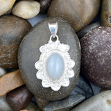 Moonstone pendant set in 925 Sterling Silver