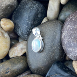 Opal pendant Set in 925 Sterling Silver