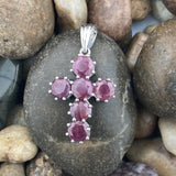 Ruby pendant set in 925 Sterling Silver