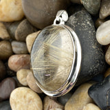 Rutilated Quartz Pendant 23