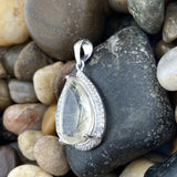 Rutilated Quartz Pendant 30