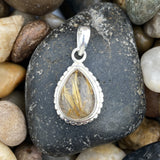 Rutilated Quartz Pendant 4
