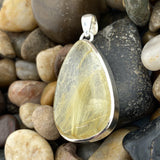 Rutilated Quartz Pendant 8