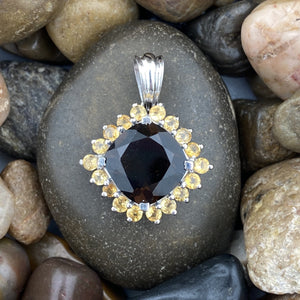 Smokey Quartz Pendant 43