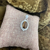 Tigers Eye Pendant 25