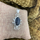 Tourmalated Quartz Pendant 12