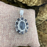 Tourmalated Quartz Pendant 9