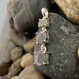 Tourmaline pendant set in 925 Sterling Silver
