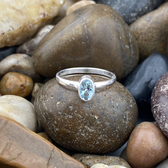 Aquamarine Ring 11