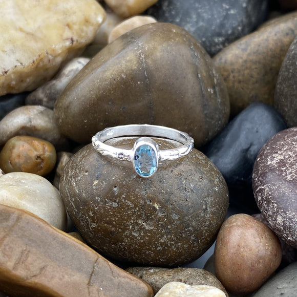 Aquamarine Ring 22