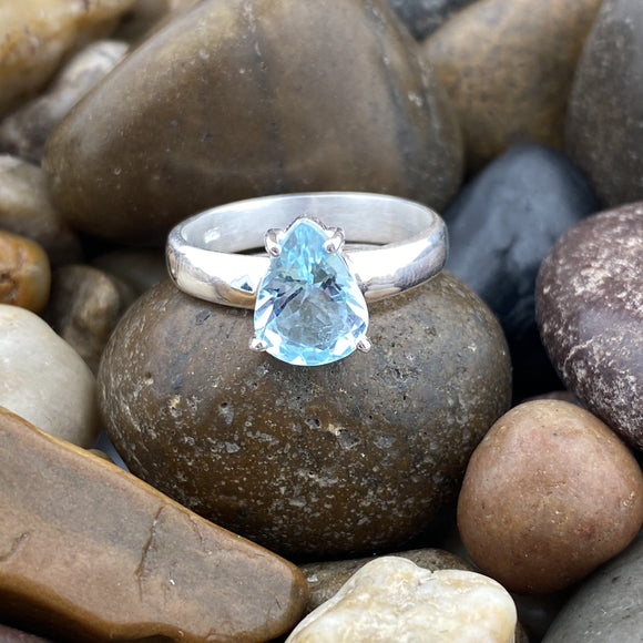 Aquamarine Ring 27