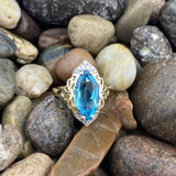 Blue Topaz Ring 40