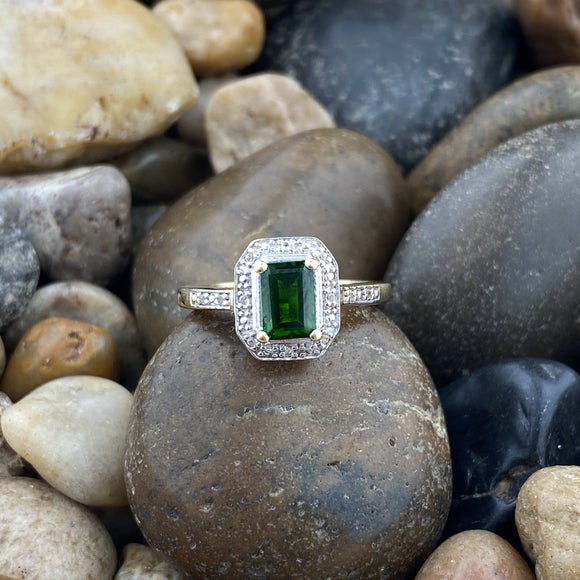 Chrome Diopside Ring 35
