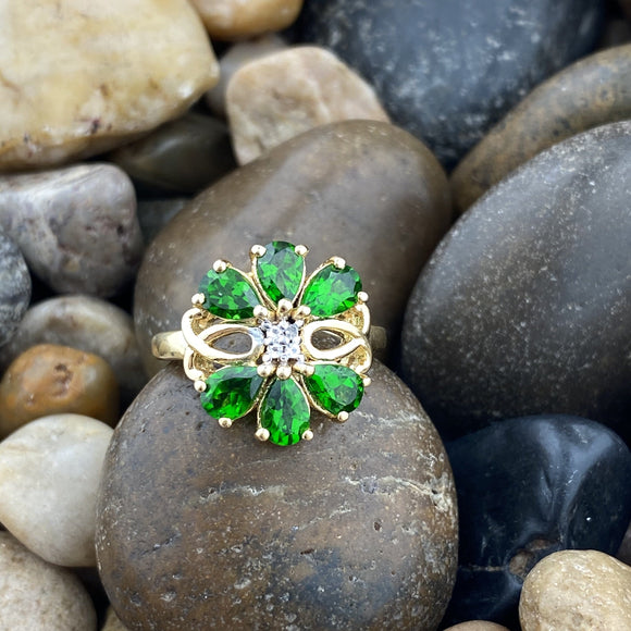 Chrome Diopside Ring 36