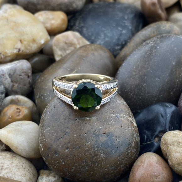 Chrome Diopside Ring 37