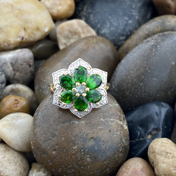 Chrome Diopside Ring 38