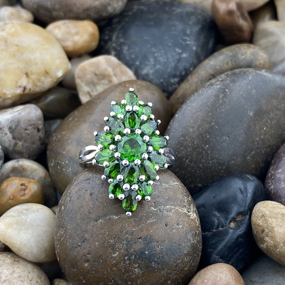 Chrome Diopside Ring 42