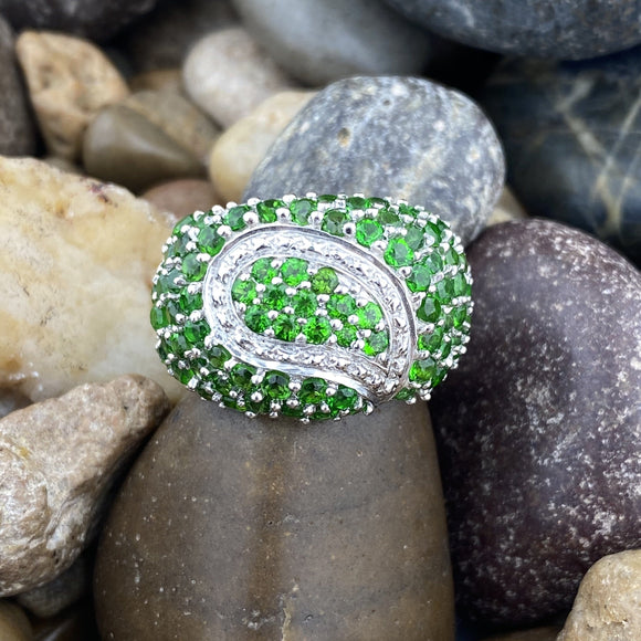 Chrome Diopside Ring 48