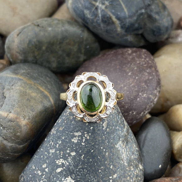 Chrome Diopside Ring 53