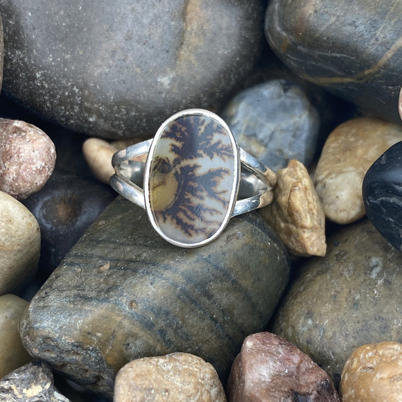 Dendritic Agate Ring 1