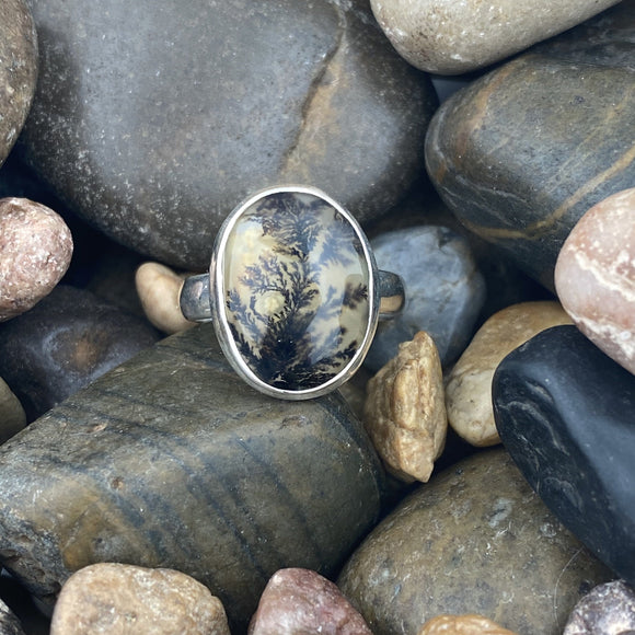 Dendritic Agate Ring 4