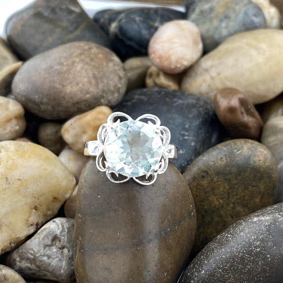 Green Amethyst Ring 1