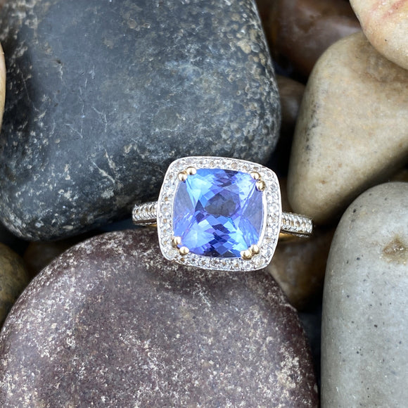 Fancy Tanzanite Ring 1