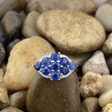 Kyanite ring set in 925 Sterling Silver