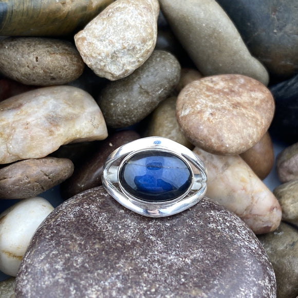 Labradorite Ring 13