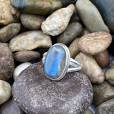 Labradorite Ring 25