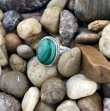 Malachite Ring 13