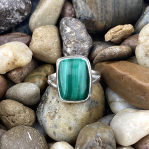 Malachite Ring 14