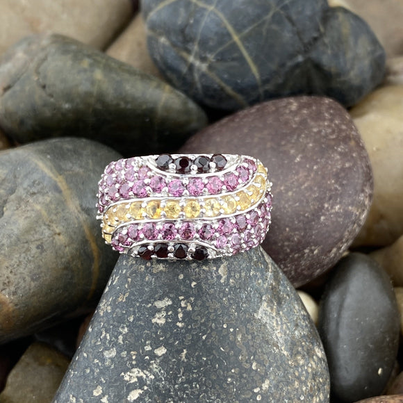 Mixed Gemstone Ring 1