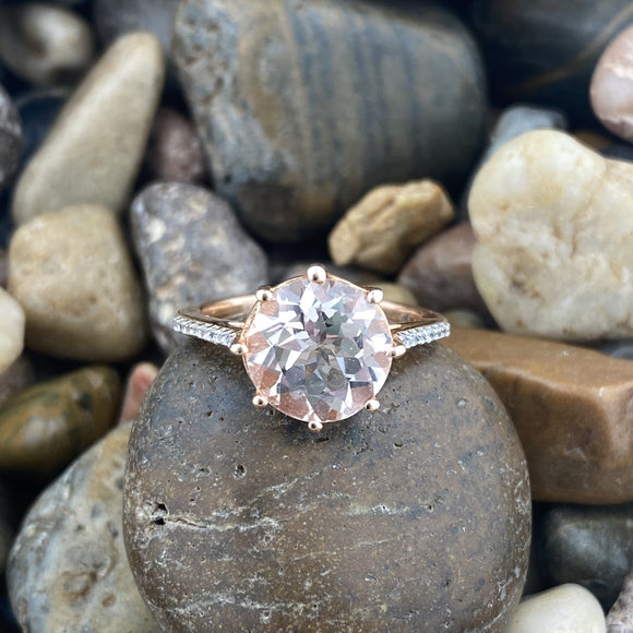 Morganite Ring 16