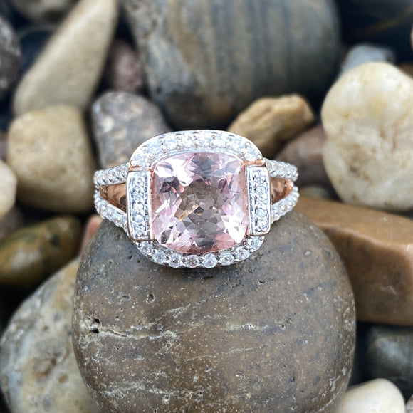 Morganite Ring 17