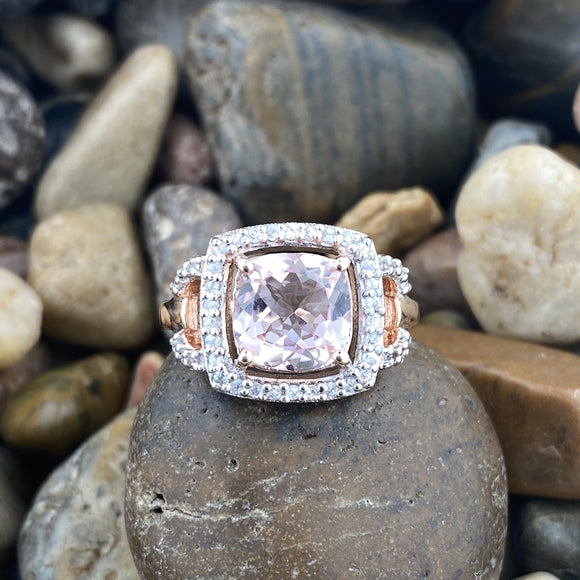 Morganite Ring 18