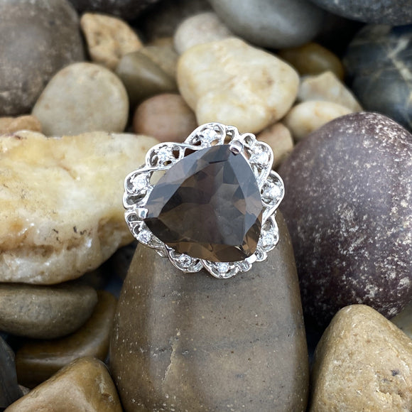 Smokey Quartz Ring 36