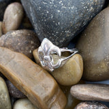 Plain Silver ring set in 925 Sterling Silver