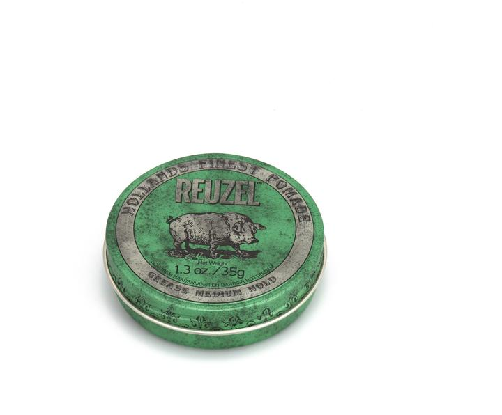 Green Pomade Grease - Fusion 3 Salon