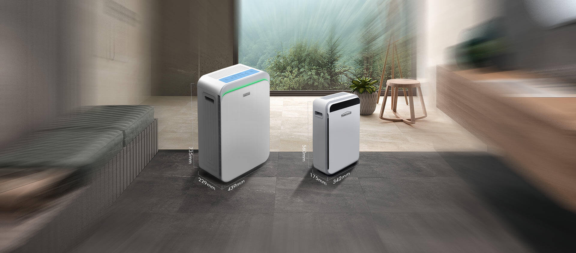 Healthomse True HEPA Air Purifier