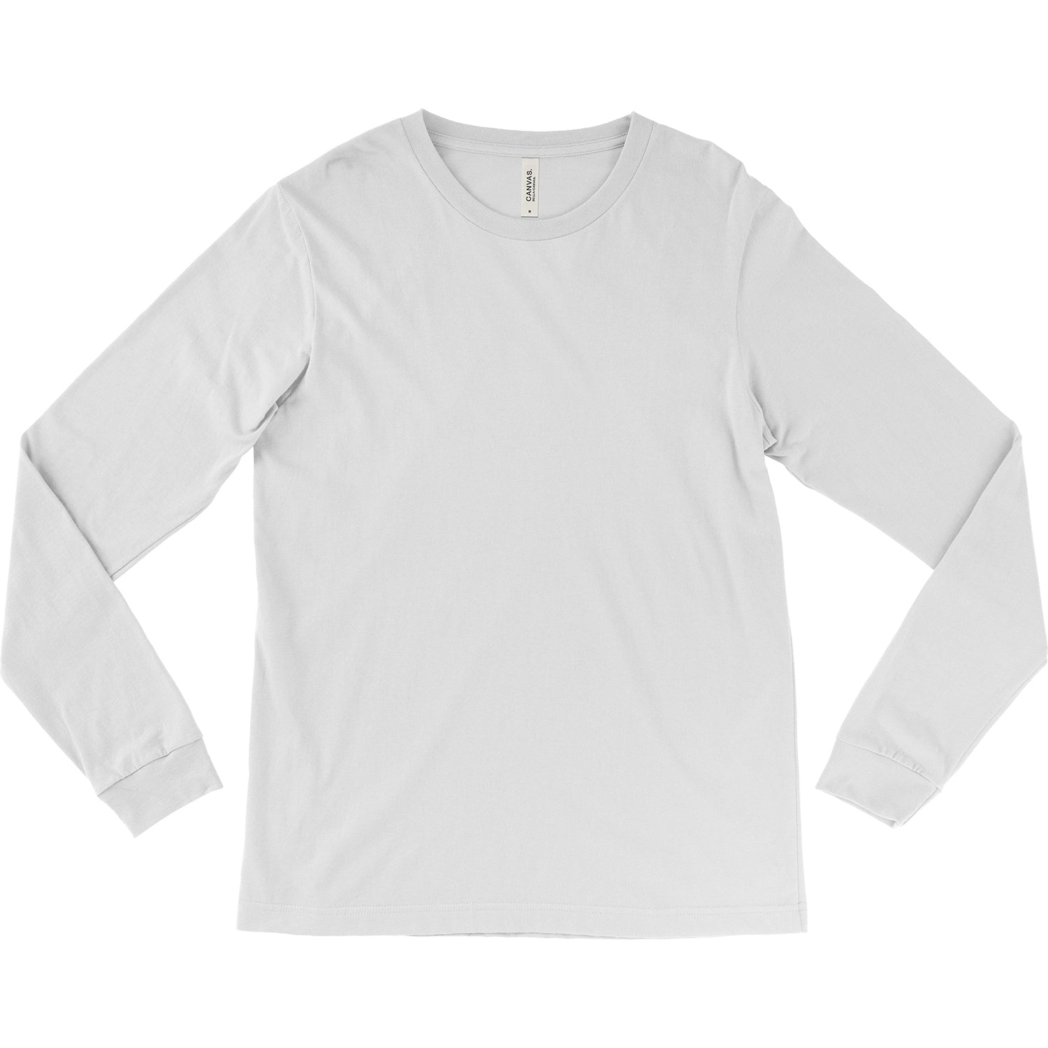 Unisex Jersey Long Sleeve Tee - White