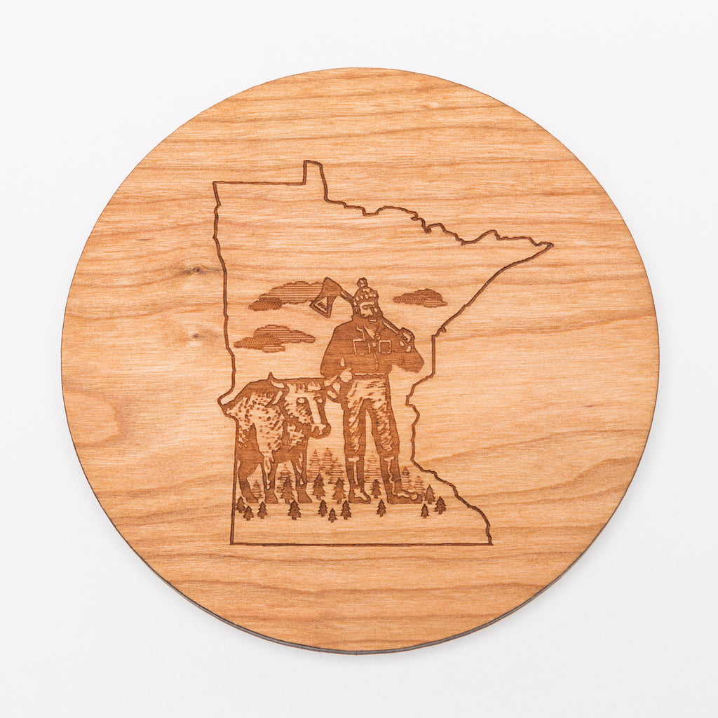MN Paul Bunyan Coaster