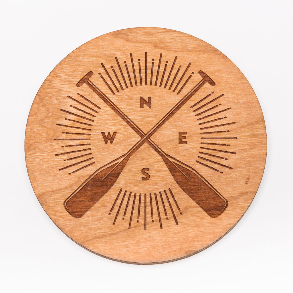 Paddle Compass Coaster