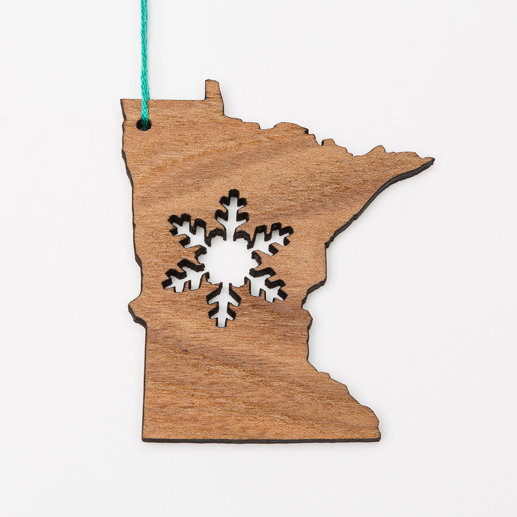 MN Snowflake Ornament or Magnet