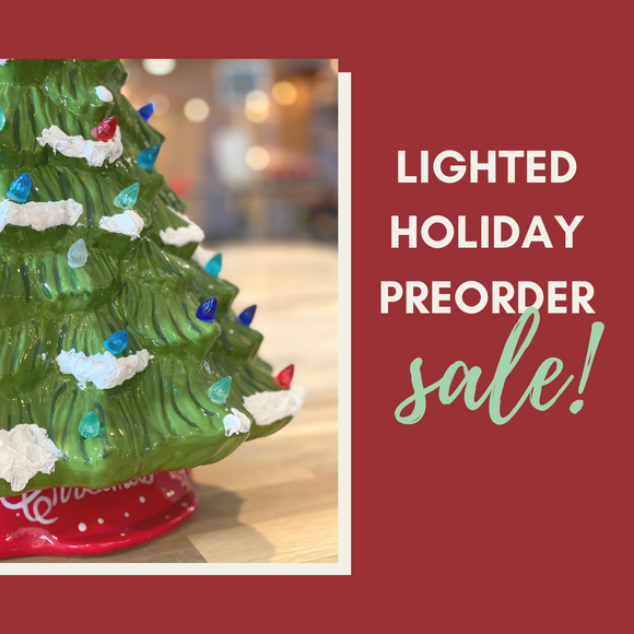Lighted Holiday Pre-Order