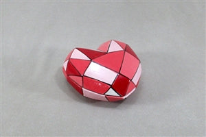 Faceted Heart Box